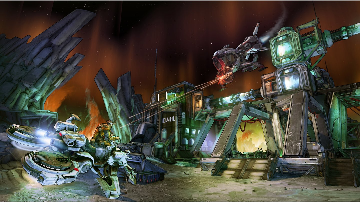 Borderlands: The Pre-Sequel - E3-Screenshots