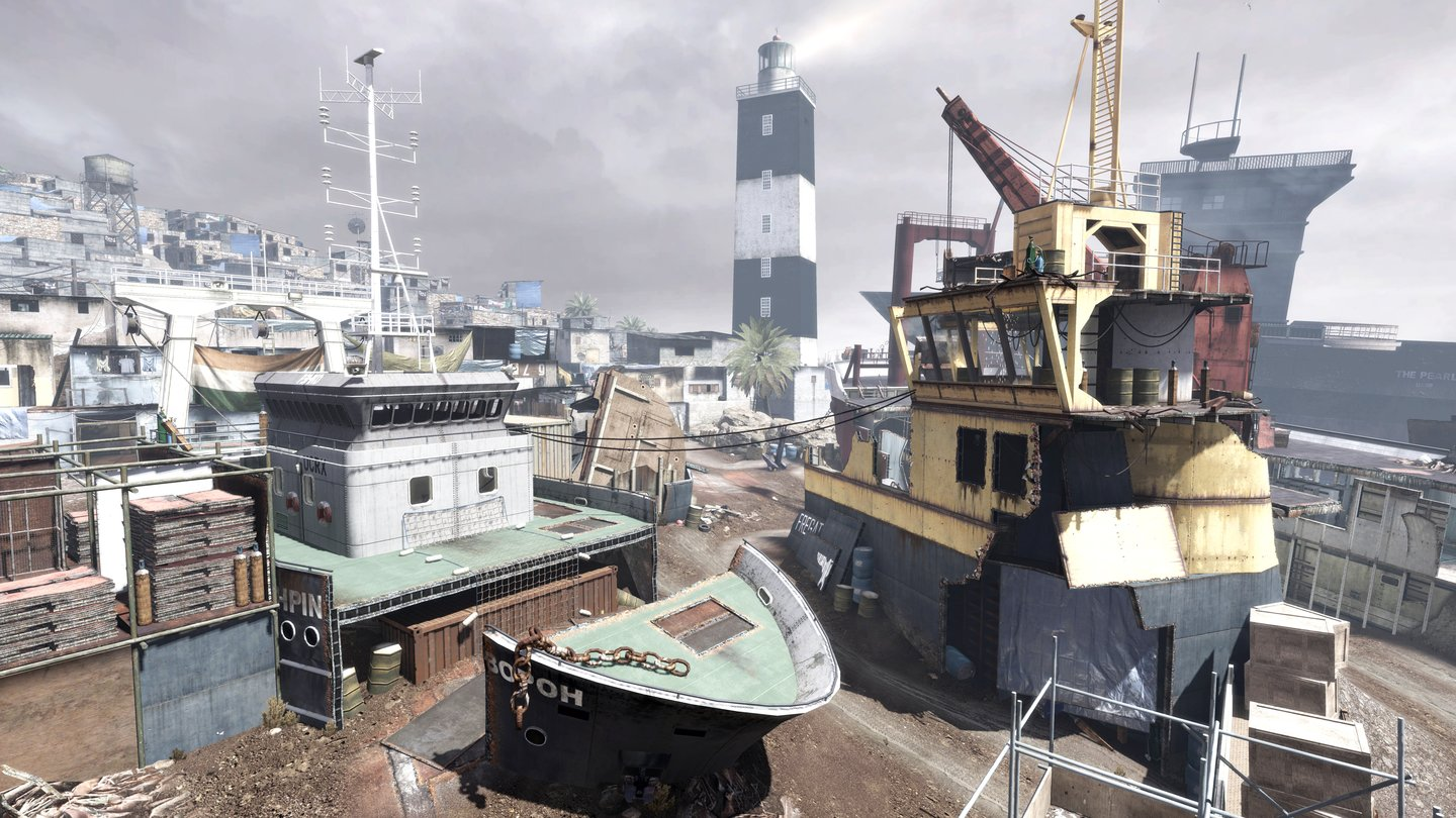 Call of Duty: Modern Warfare 3 - Multiplayer-Map »Decommission«