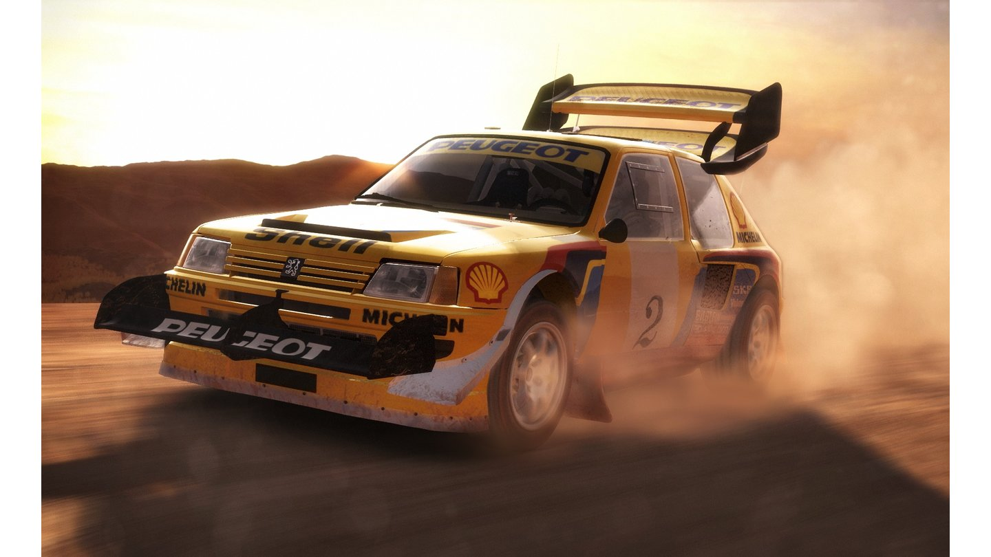 DiRT Rally - Screenshots der Hill-Climb-Strecke Pikes Peak