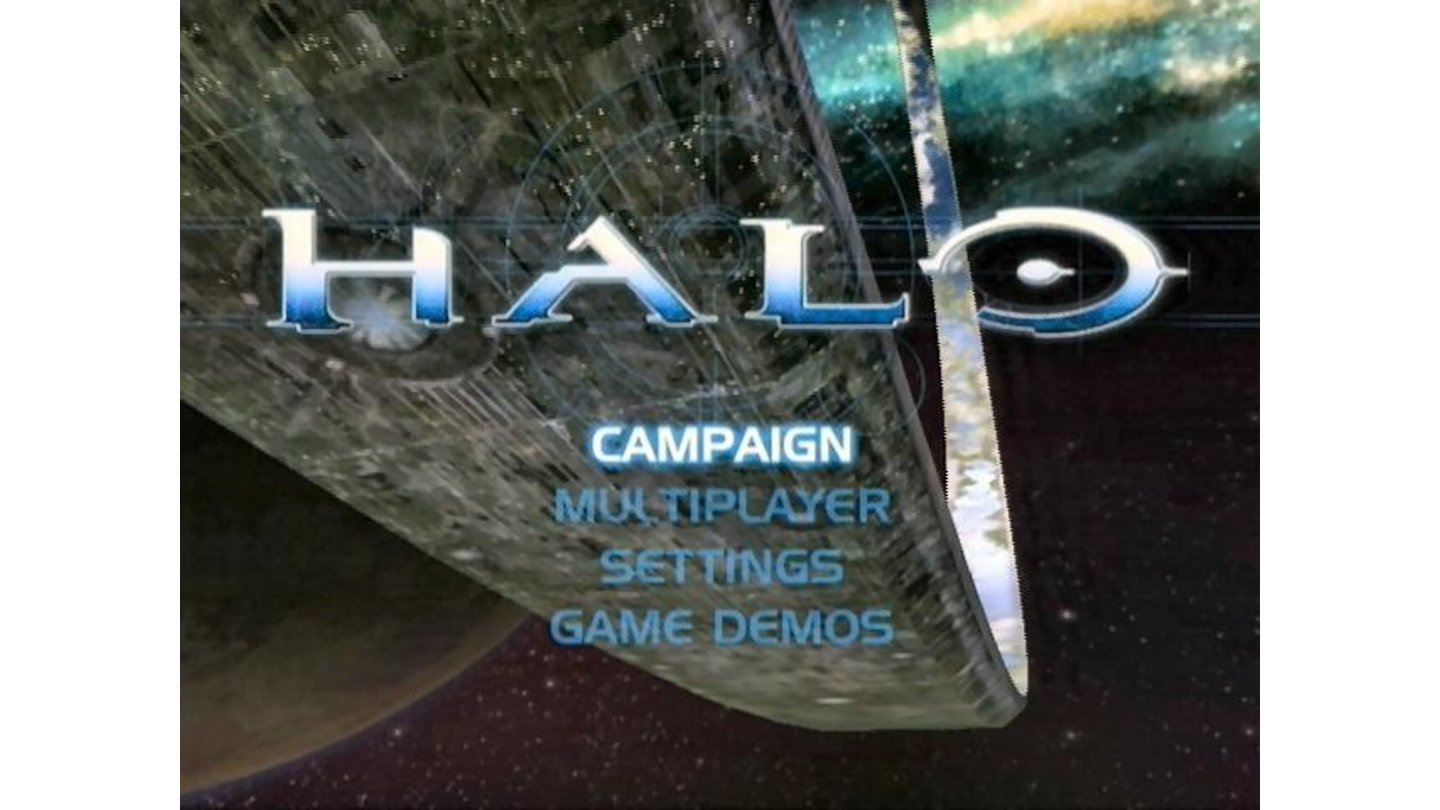 Title Screen - Main Menu