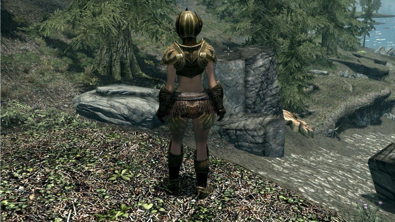The Elder Scrolls 5 Skyrim Sexy Leichte Rüstungs Mods