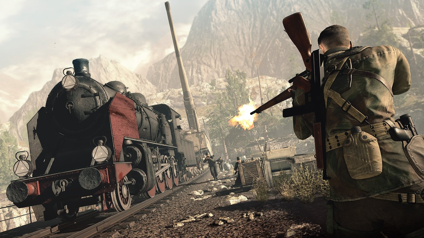 Sniper Elite 4 - E3-Screenshots