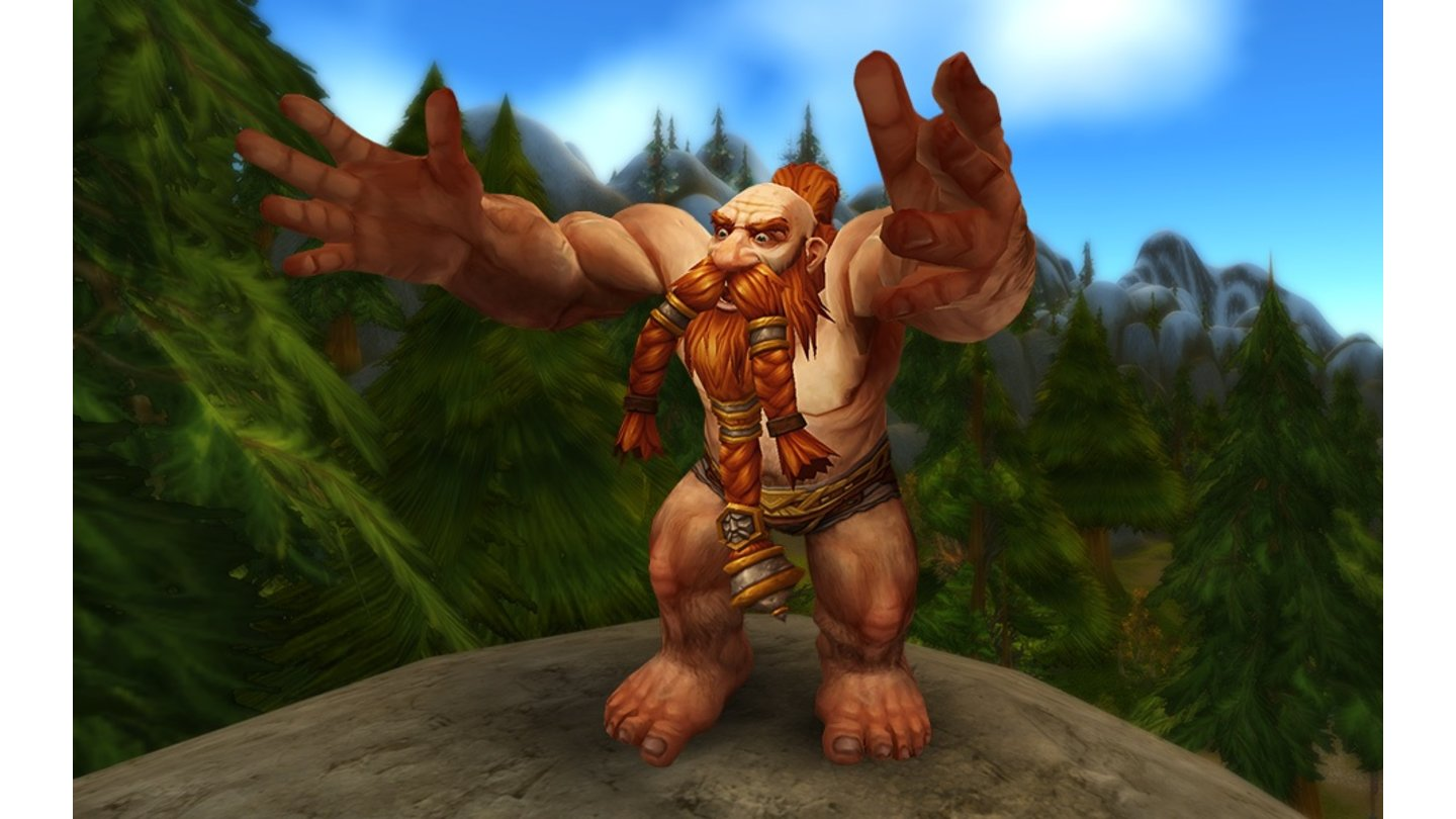 World of Warcraft: Warlords of Draenor - Charaktermodelle