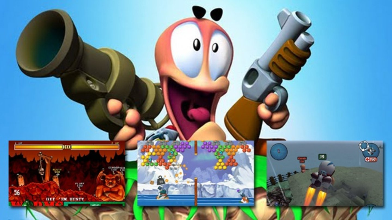 Worms Spiele
