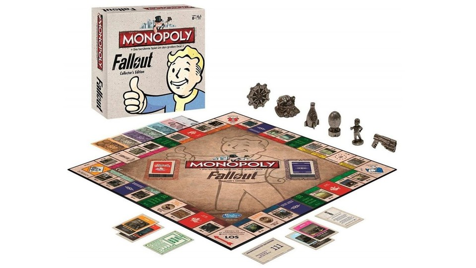 Fallout Monopoly enthält in der Collector's Edition sechs Fallout-Sammelfiguren.