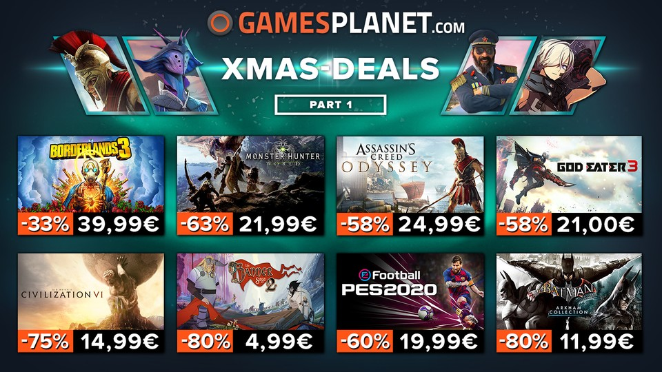 Gamesplanet XMAS-Sale