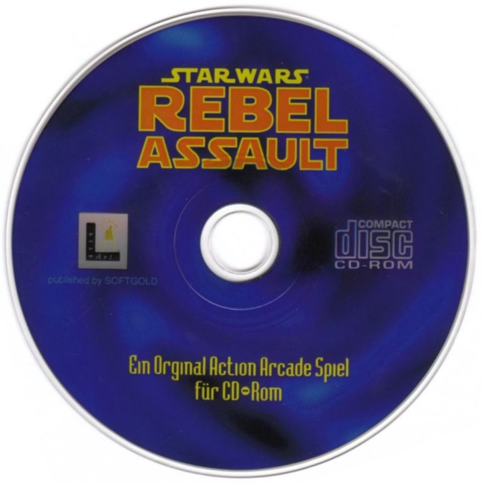 Star Wars: Rebel Assault erschien 1993 exklusiv auf CD-ROM.