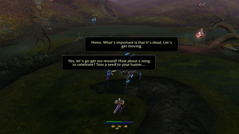 Toss a Seed to your Hunter, oh valley of plenty. (Quelle: mmo-sankar.de)