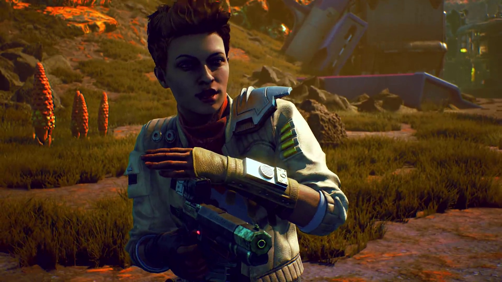 Aliens, Action und Entscheidungen im Releasetrailer zu The Outer Worlds