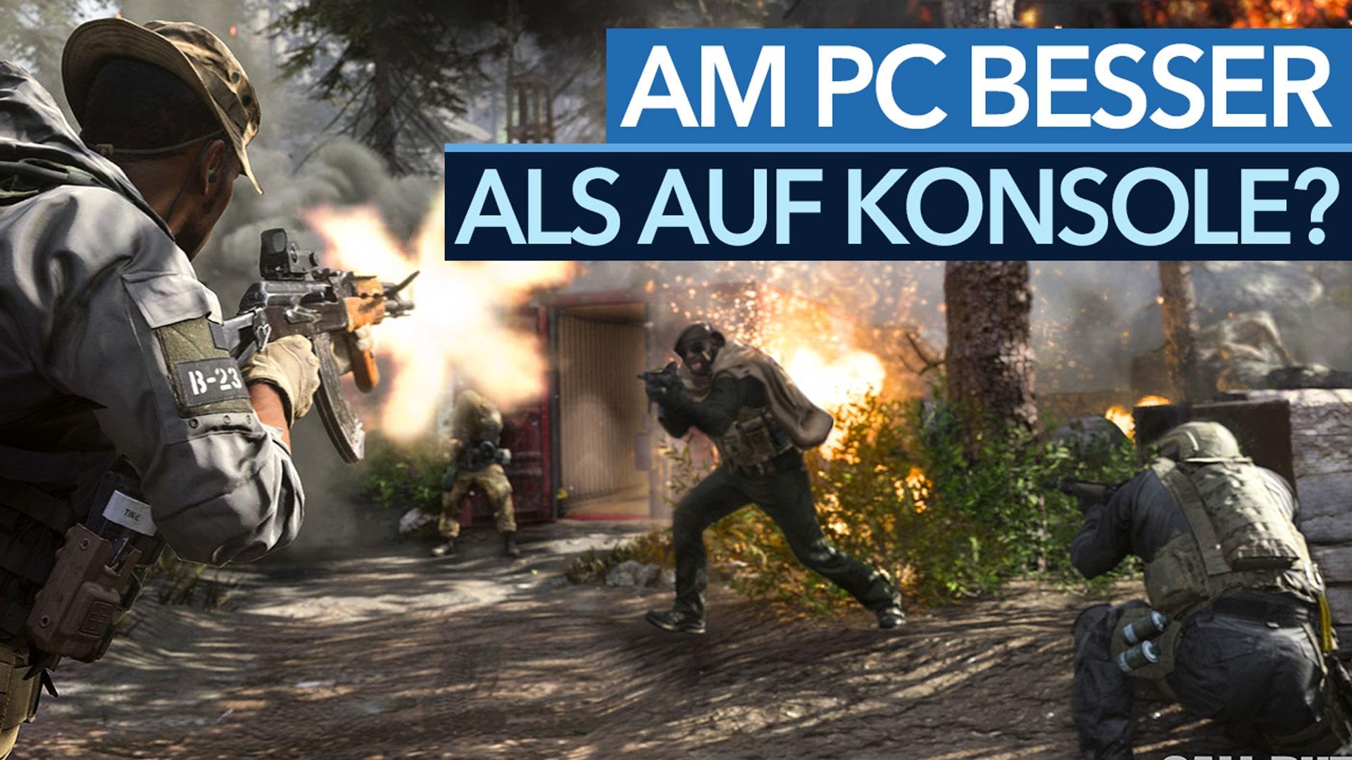 »Crossplay ist bei Call of Duty ein Vorteil für PC-Spieler« - Wie Modern Warfare auf die beste Plattform portiert wird