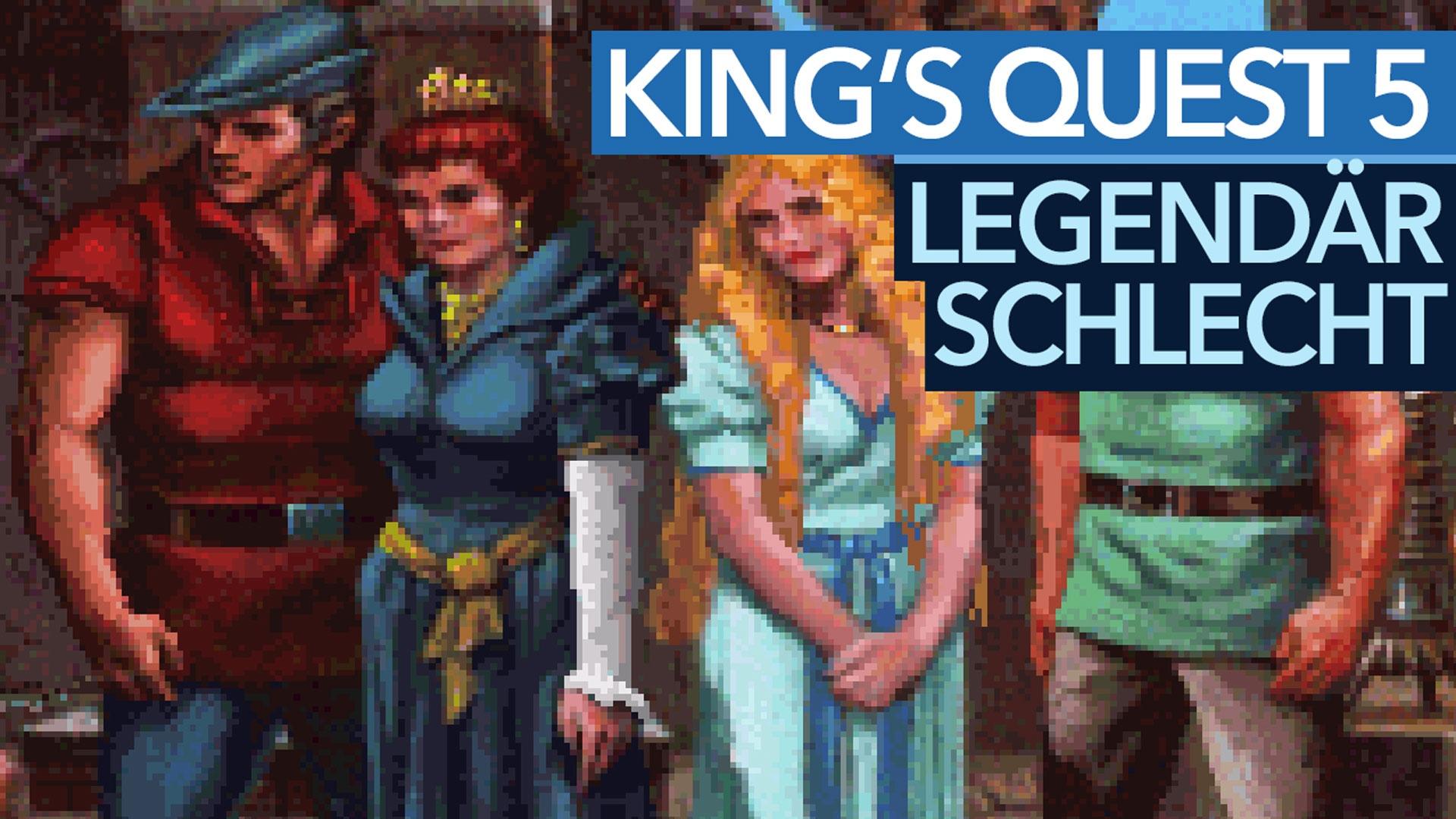 King's Quest 5 - Die schlechtesten Spiele aller Zeiten