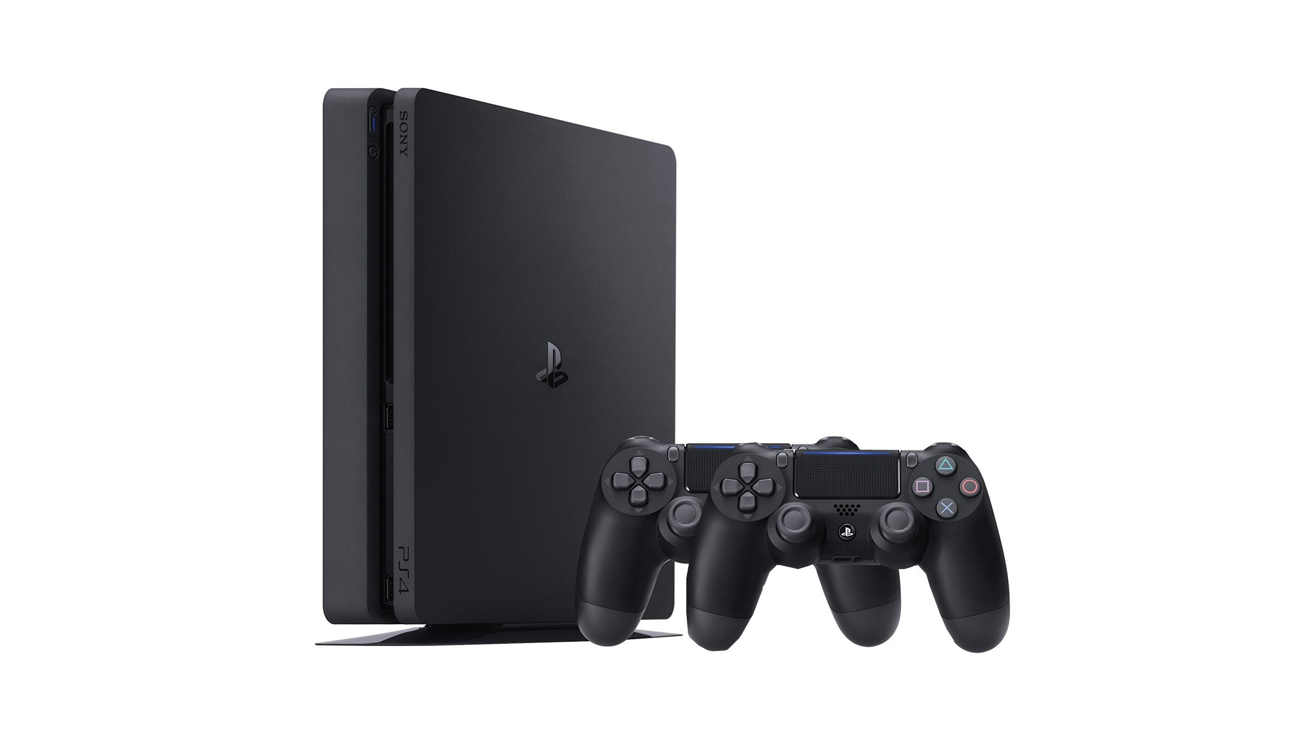 playstation 4 slim 500 gb 2 dualshock f r nur 222. Black Bedroom Furniture Sets. Home Design Ideas
