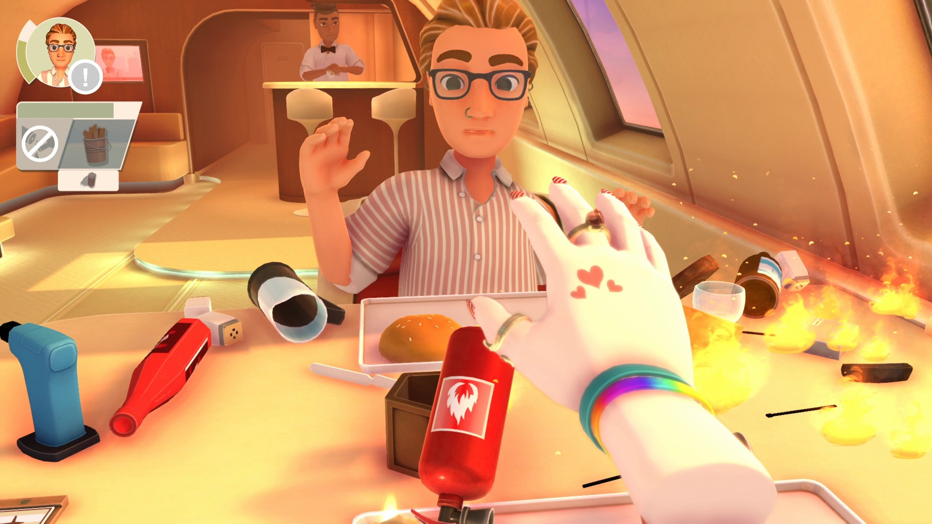 Table Manners: Physics-Based Dating Game - Screenshots