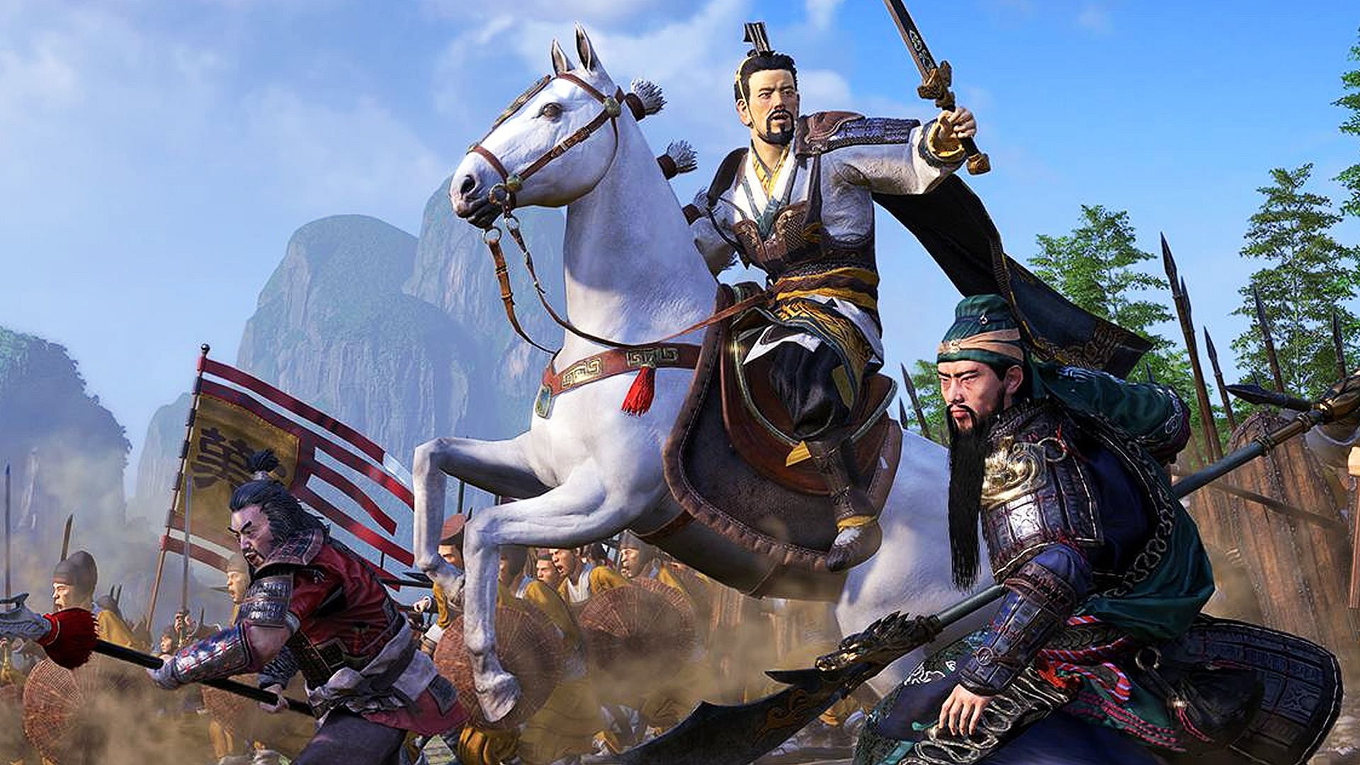 Zhang yan three kingdoms total war