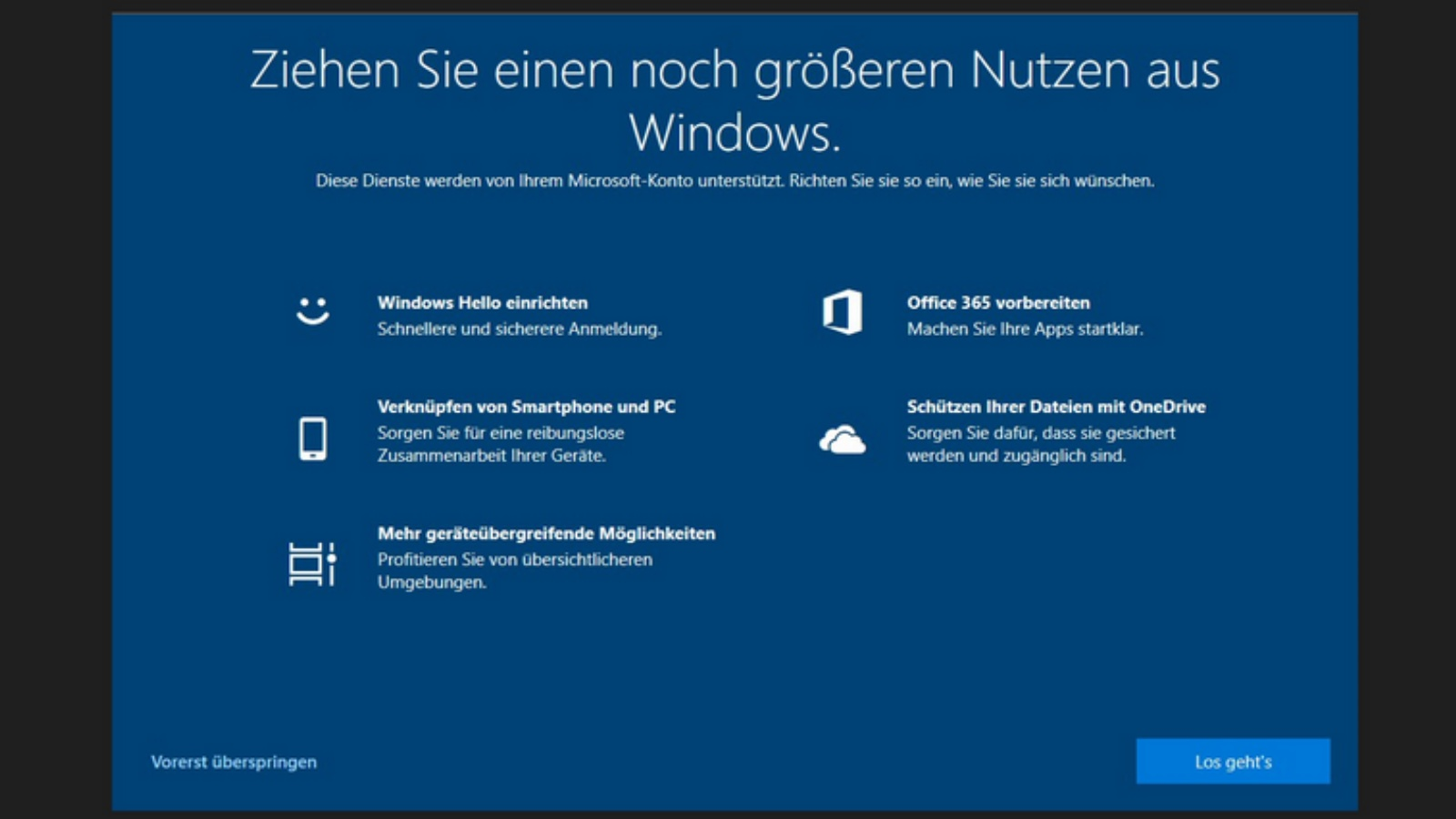 Windows 10 annoys users with fullscreen message
