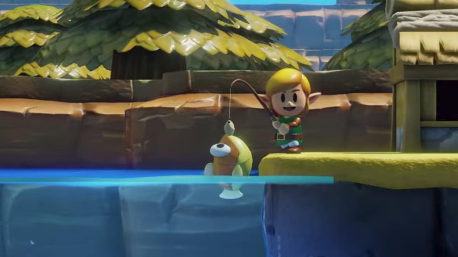 Zelda Links Awakening Neuer Gameplay Trailer Von Der E3 2019 Ist