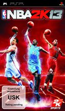 Cover zu NBA 2K13 - PSP
