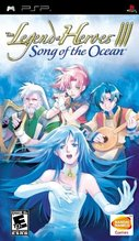 Cover zu The Legend of Heroes III: Song of the Ocean - PSP
