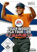 Cover zu Tiger Woods PGA Tour 09 - Wii