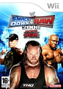 Cover zu WWE SmackDown vs. Raw 2008 - Wii
