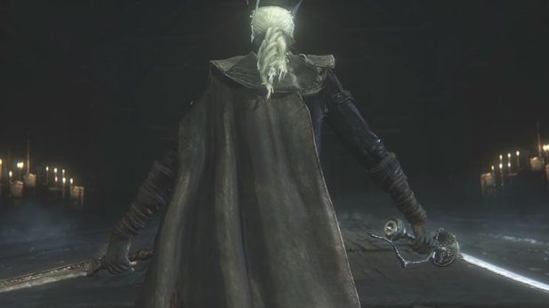 Maria in Bloodborne: The Old Hunters.
