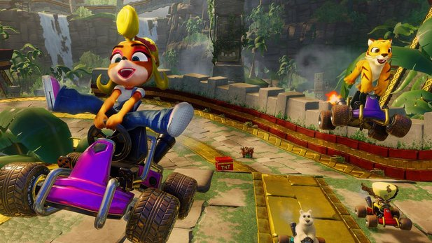Crash Team Racing Nitro-Fueled - Frisches Gameplay zum PS1-Remake: So hübsch wie noch nie