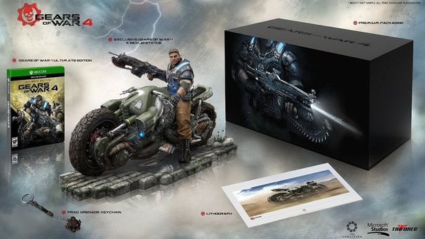 Gears of War 4 Collector's Edition