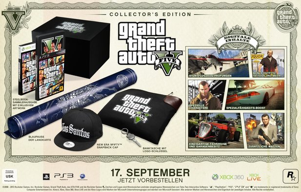 Grand Theft Auto 5 Collector's Edition
