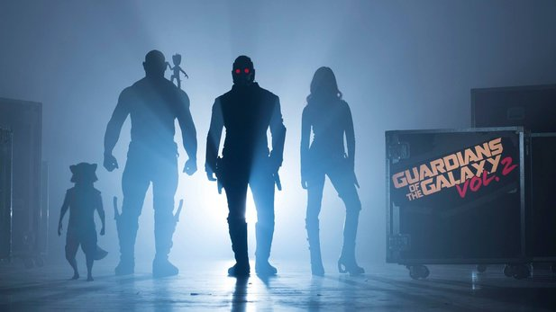 Drehstart zu Guardians Of The Galaxy 2 mit Chris Pratt, Kurt Russell und Pom Klementieff als Mantis.