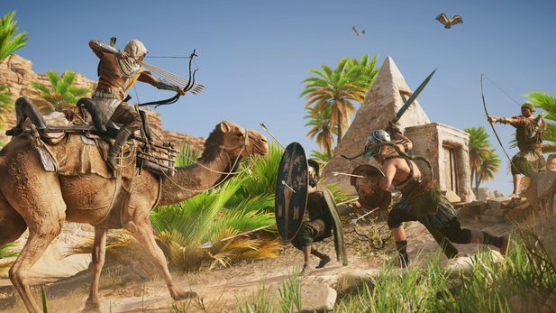 In Assassin's Creed: Origins taucht ein Charakter auf, der bereits in Assassin's Creed 2 zu sehen war.