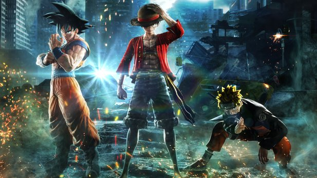 Jump Force bietet Charaktere aus Dragon Ball, Naruto, One Piece und Death Note.
