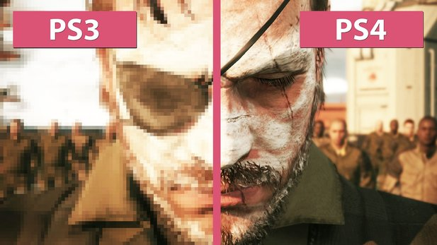 Metal Gear Solid 5: The Phantom Pain - PS3 und PS4 Versionen im Grafikvergleich