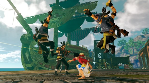 Es gibt neue Screenshots zu One Piece: World Seeker.
