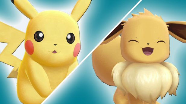 Pokémon: Let's Go Pikachu und Evoli Pikachu vs Evoli