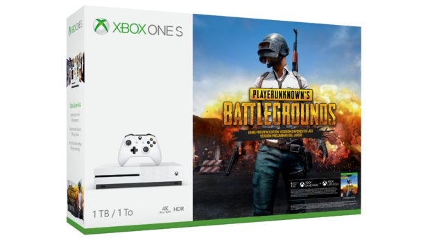 Xbox One S im Bundle mit PUBG