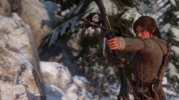 Rise of the Tomb Raider: Das letzte Woman vs. Wild-Video