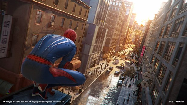 Spider-Man schwingt ab September durch Manhattan.