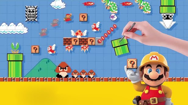 Super Mario Maker - Überblicks-Trailer: Alle Features von Mario