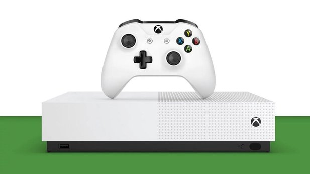 Die Xbox One S All Digital hat kein Laufwerk.