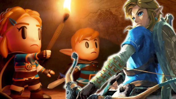 Zelda: Breath of the Wild 2 im Look von Link's Awakening.