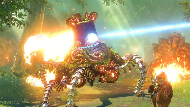 Zelda: Breath of the Wild - Geheime Waffen im Video.