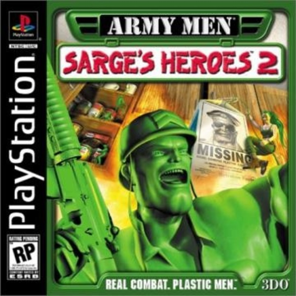 Cover zu Army Men: Sarge's Heroes 2