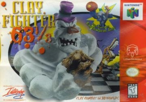 Cover zu ClayFighter 63 1/3