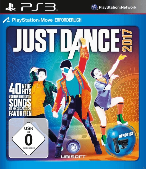 Cover zu Just Dance 2017