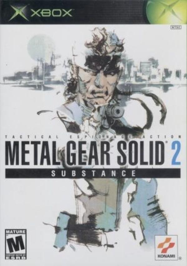 Cover zu Metal Gear Solid 2: Substance