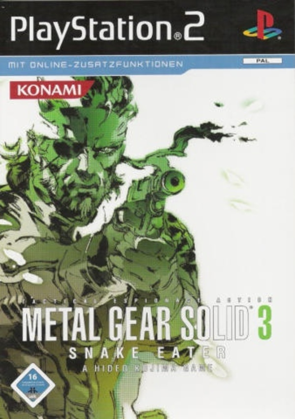 Cover zu Metal Gear Solid 3: Snake Eater