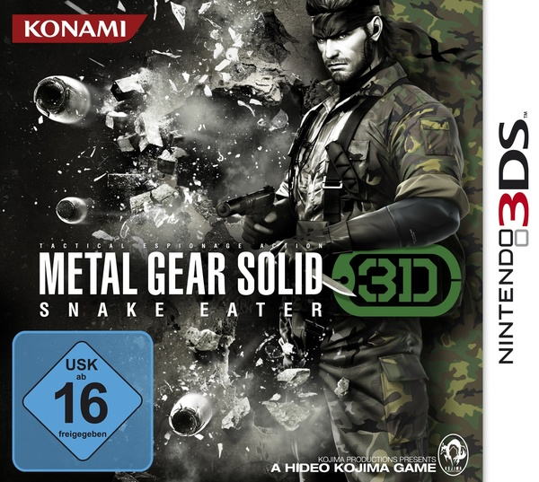 Cover zu Metal Gear Solid: Snake Eater 3D