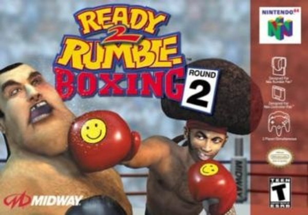 Cover zu Ready 2 Rumble Boxing: Round 2