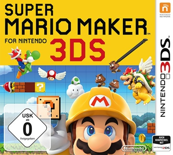 Cover zu Super Mario Maker 3DS