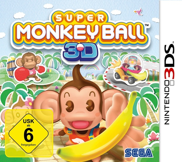 Cover zu Super Monkey Ball 3D